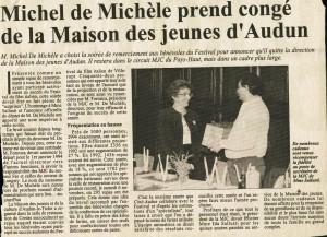 CongÚ de Michel de MichÞle