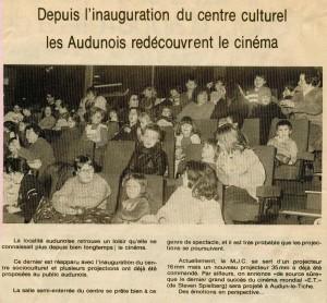 Salle de spectacle 1983